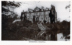 Barnbarroch House, Whauphill, Dumfries and Galloway (now a ruin)