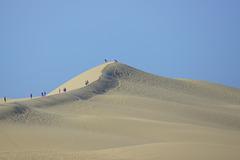 On a marché sur la dune...