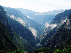 The Ugar River Canyon after the summer rain