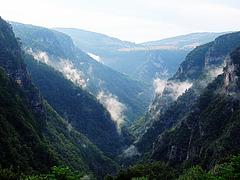 Ugar River Canyon after the summer rain
