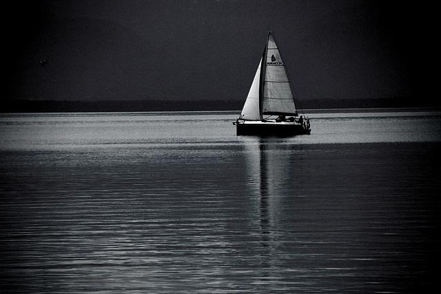 Chiemseeboot, Breitseite