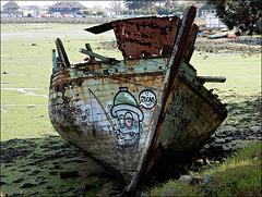le vieux bateau qui ne voulait pas mourir,