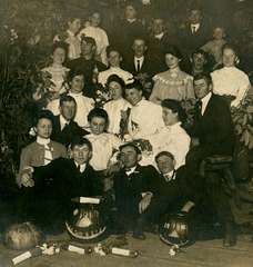 Halloween Party, 1905 (Cropped)