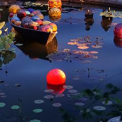 Boat and balls