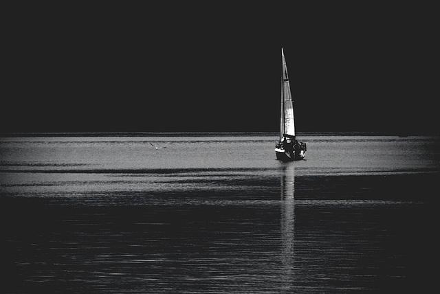 Chiemseeboot, Heckseite