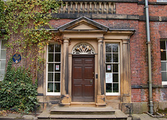 Entrance  Front, Tapton House, Chesterfield, Derbyshire