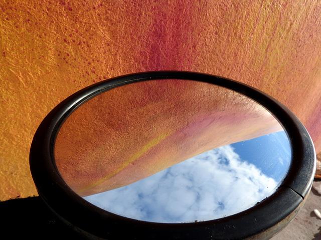 Peach Reflection