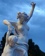 Statue frolicking, Biltmore