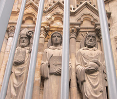 Saints, hanging around...