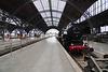 Leipzig 2015 – Hauptbahnhof – Steam Engine 52 5448-7