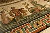 A Rome (Italie), mosaïque au sol, Salle ronde = Sala Rotonda, Musée Pio-Clementino, Musées du Vatican