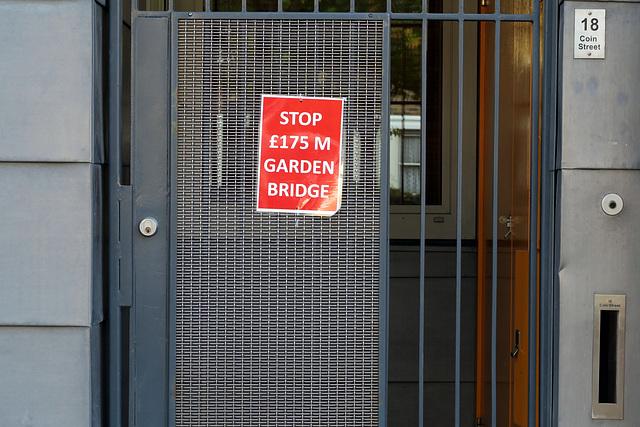 Stop $175M Garden Bridge