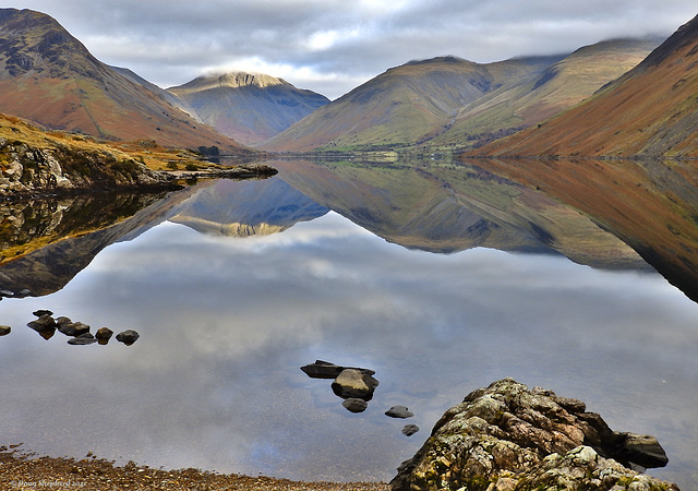 Wasedale and Wastwater in Autumn colours
