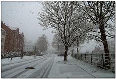 Eine Schneefahrt .....