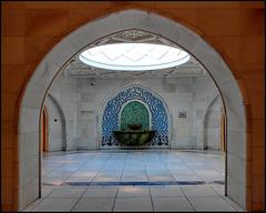 AbuDhabi : lussuosa accoglienza in questi bagni