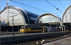 Amsterdam Station...