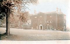 Whiteley Wood Hall, Sheffield, South Yorkshire (Demolished c1959)