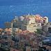 Blick auf Calvi, Korsika