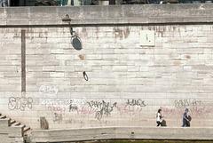 Le mur des inondations