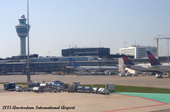 Schiphol International Airport, Amsterdam