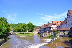 Altstadt am Fluss-Schwäbisch Hall