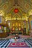 Interior of Wat Niwet Thammaprawat in Bang Pa-In, Ayutthaya, Thailand