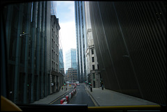streets like deep crevices