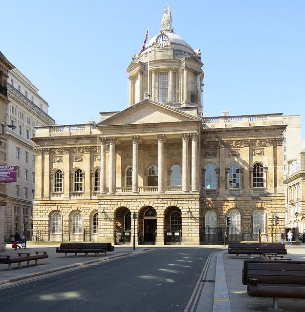 town hall, liverpool