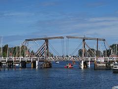 Greifswald - Wiecker Klappbrücke