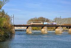 Haut-le-pied sur la Saône
