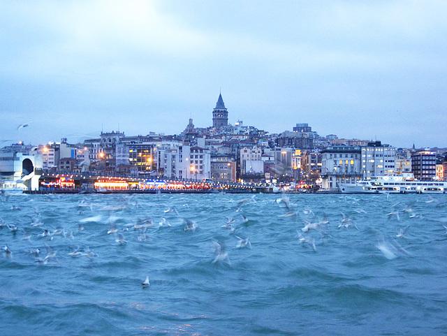Llevo conmigo el olor de Estambul.