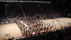 """Massed pipes and drums depart playing """"The Black Bear"""" ( part 2 )"""