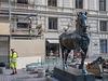 Byzantinisches Pferd macht sich nützlich