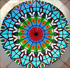 Mutrah : la cupola trasparente multicolor del Souq