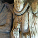 ashbourne church, derbs, c16 alabaster tomb of sir humphrey bradbourne +1581 by roiley