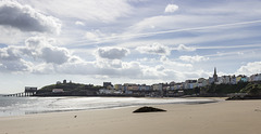 Tenby skyscape
