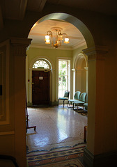 Entrance Hall, Tapton House, Chesterfield, Derbyshire