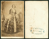"Portrait of a woman wearing the ""Amalia costume"""
