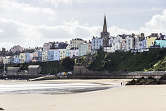 Tenby from North Sands