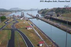 Pacific End Miraflore Locks