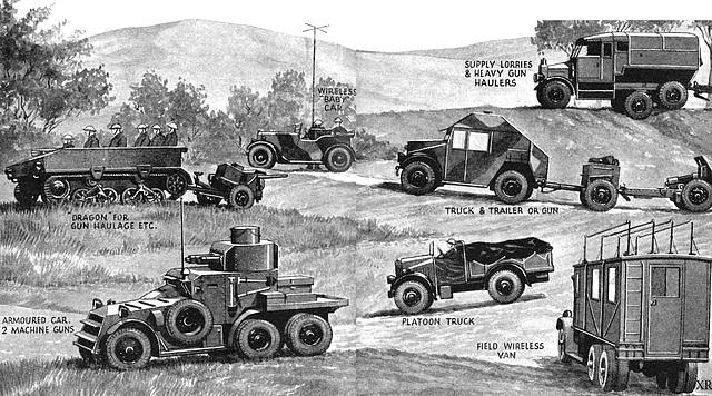 WWII british mil vehicles