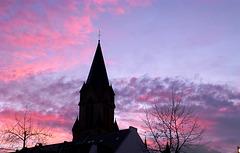 DE - Bad Neuenahr - Winter sky