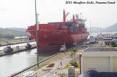 CAP DOMINGO at Miraflore Locks