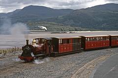 'Beddgelert' on The Fairbourne Railway