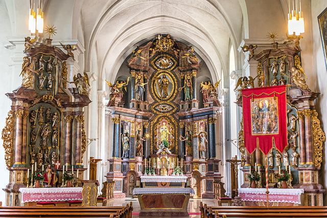 Hammelburg Klosterkirche - 20170527