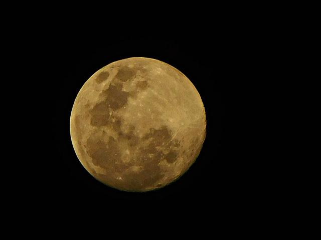 Madame la lune vous souhaite la bonne nuit
