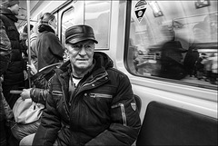 Metro St Petersbourg.