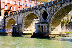 Rom - A Bridge over the Tiber