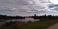 Panorama d'une côte nord.....(Québec)