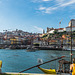 PORTO Cálem Waterfront at dawn, Old Town on the Douro river,